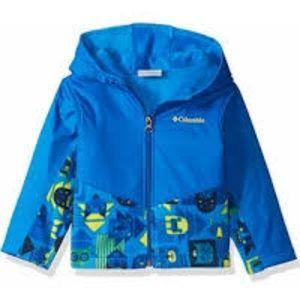 Columbia blue toddler jacket..